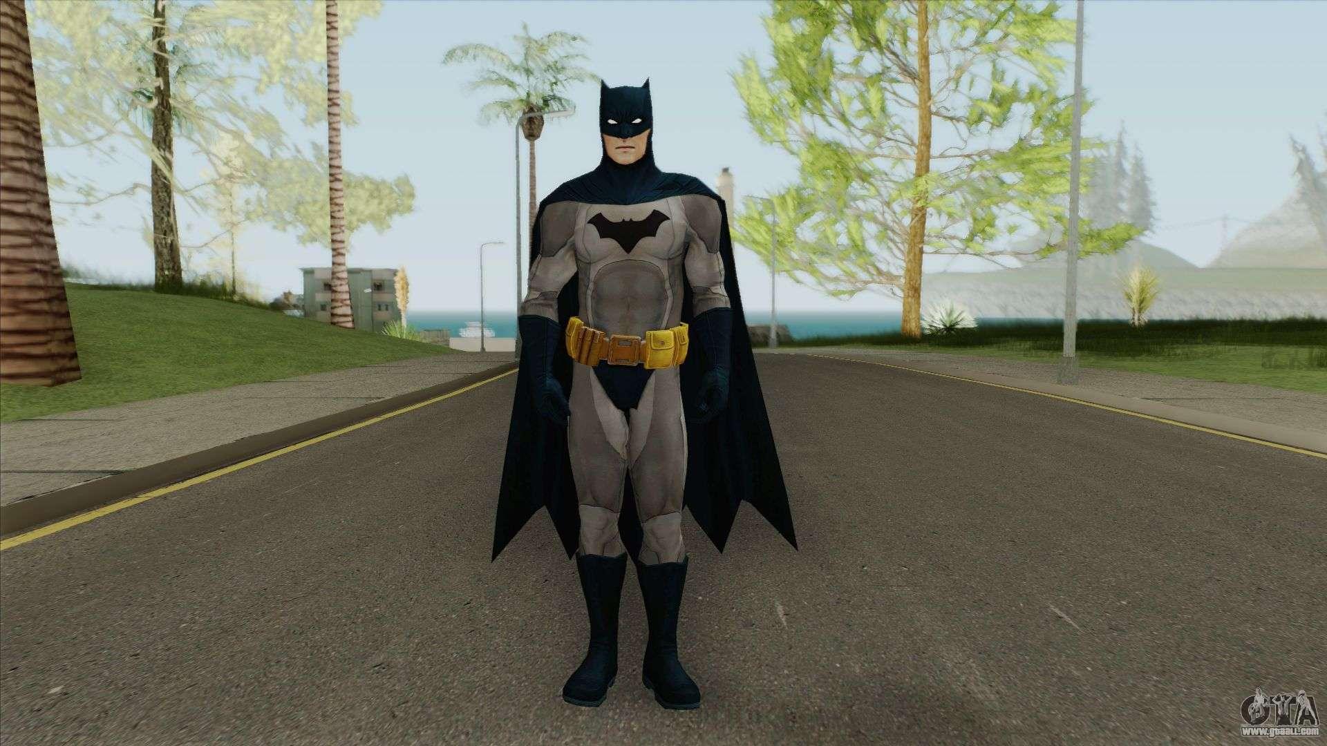 Batman Worlds Greatest Detective V1 For GTA San Andreas