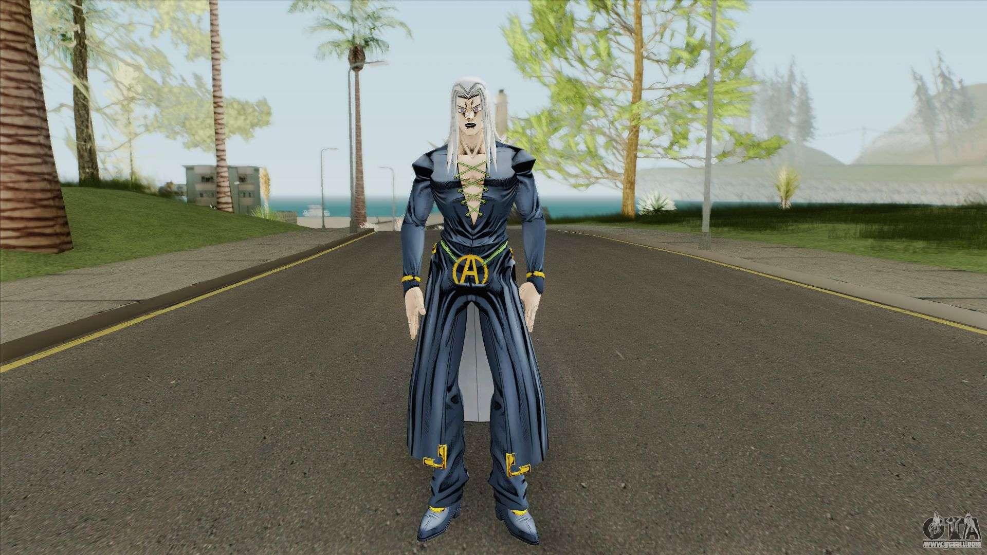 Abaccio (JoJo Bizarre Adventure: Golden Wind) for GTA San