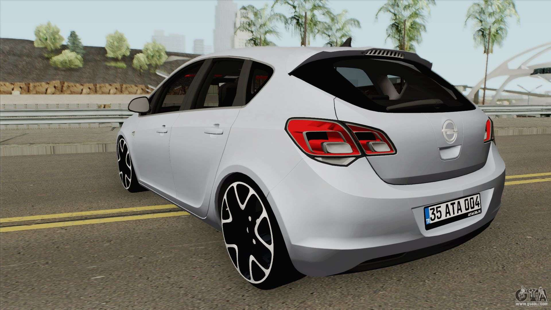Opel Astra J Hq For Gta San Andreas
