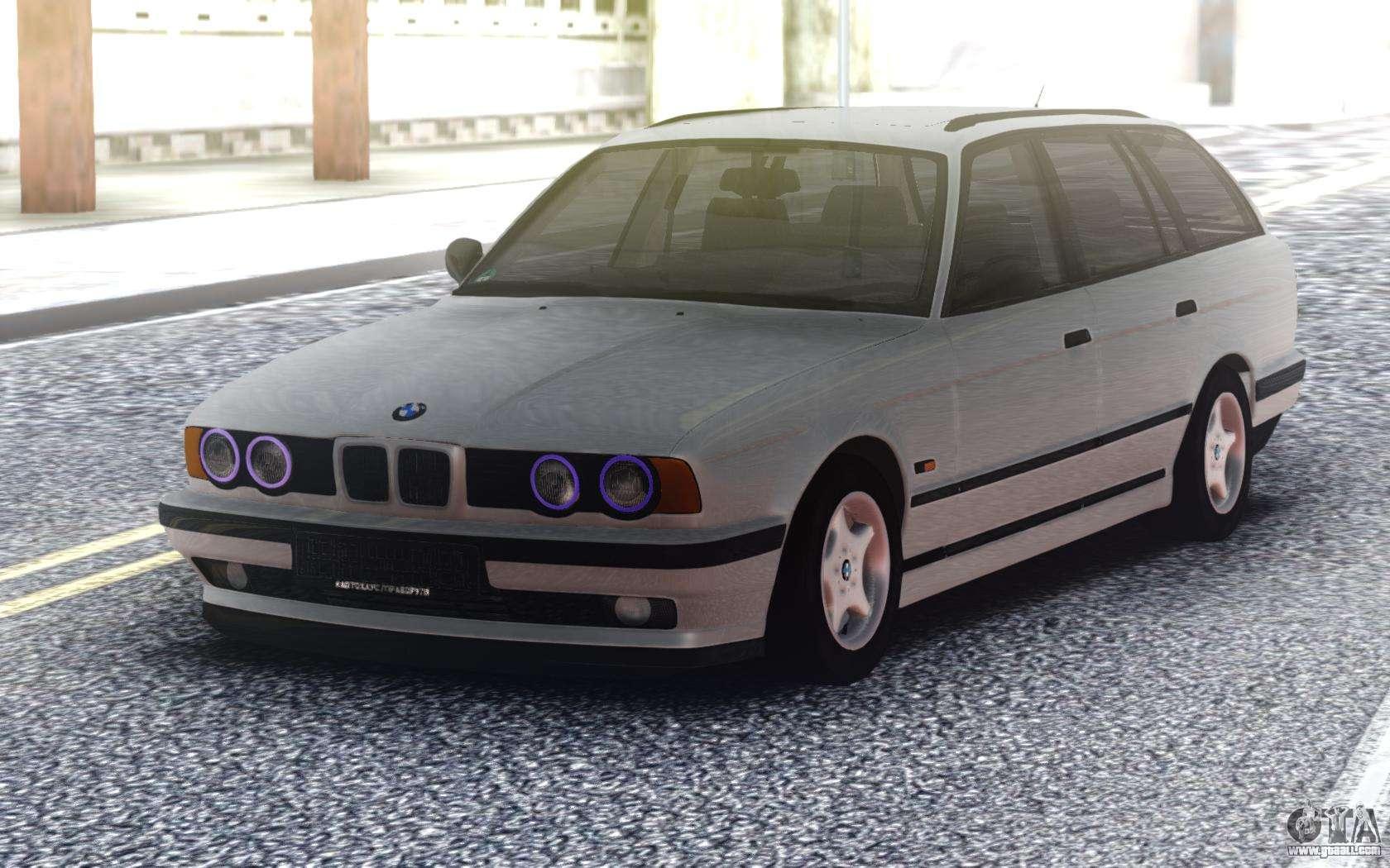 Bmw E34 Touring For Gta San Andreas