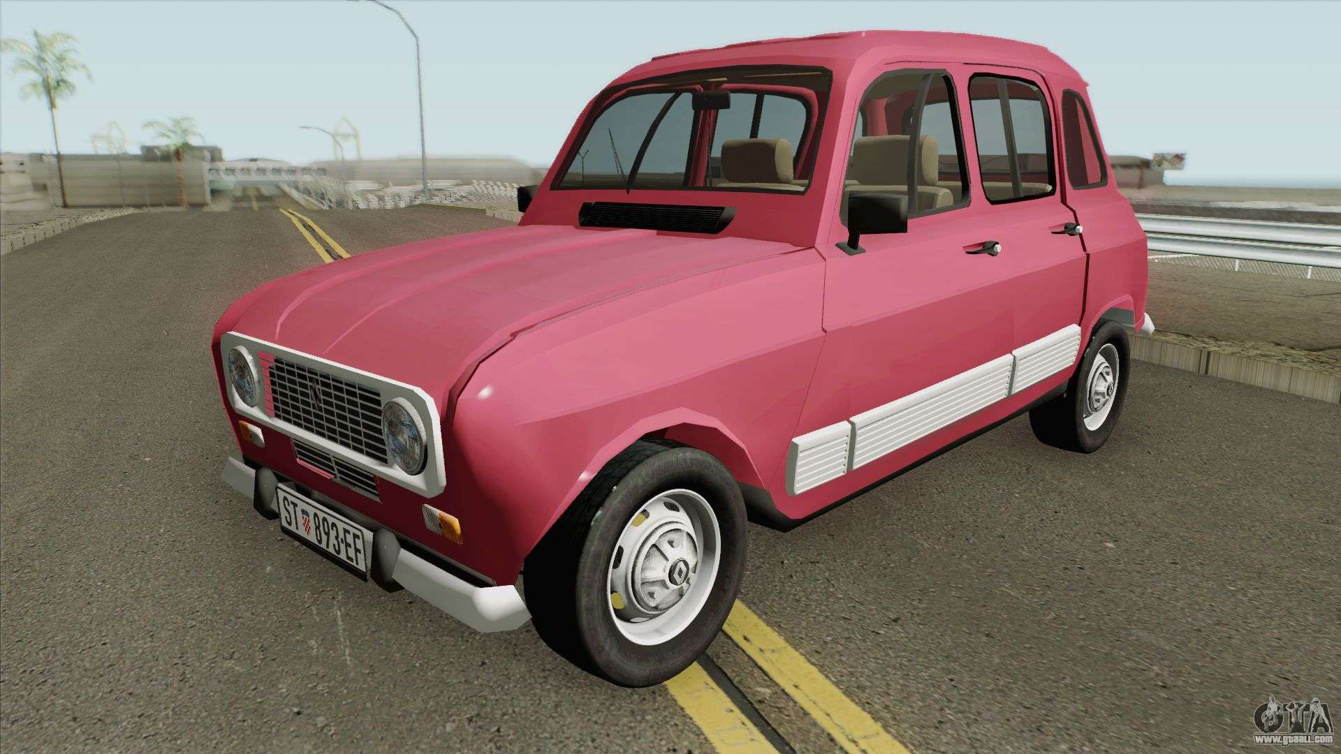 Renault 4 Gtl For Gta San Andreas
