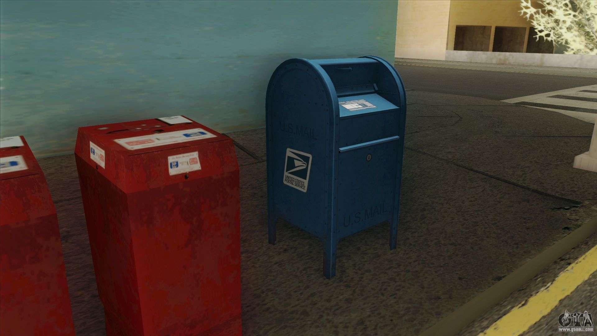 4K Postbox For GTA San Andreas