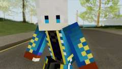 Vergil (Devil May Cry) Minecraft Version for GTA San Andreas