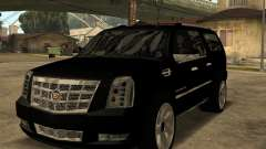Cadillac Escalade ESV Black for GTA San Andreas