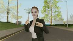 Emma Watson (Business Suit) V2 for GTA San Andreas