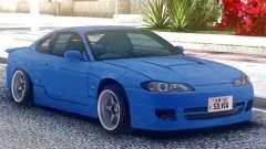 Nissan Silvia S15 Original Blue for GTA San Andreas