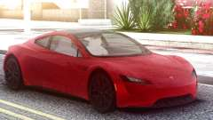 Tesla Motors Roadster 2020 Red for GTA San Andreas