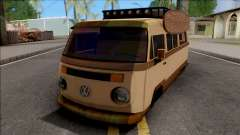 Volkswagen Kombi Classic Retro v2 for GTA San Andreas