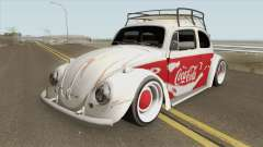 Volkswagen Fusca Coca-Cola Edition for GTA San Andreas