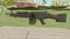 Battlefield 3 M249 for GTA San Andreas