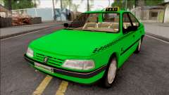 Peugeot 405 GLX Taxi v3 for GTA San Andreas