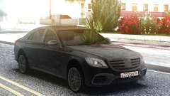 Mercedes-Benz S63 AMG W222 Black for GTA San Andreas