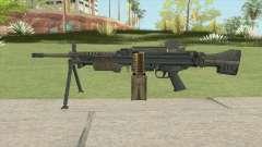 Battlefield 4 MG4 for GTA San Andreas