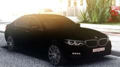 BMW 540i G30 Black for GTA San Andreas