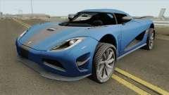Koenigsegg Agera R 2011 HQ for GTA San Andreas