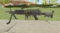 Battlefield 4 M249 for GTA San Andreas