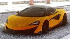 McLaren 600LT 2018 Yellow for GTA San Andreas