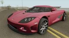 Koenigsegg CCX HQ 2006 for GTA San Andreas
