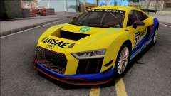 Audi R8 LMS GT4 2019 for GTA San Andreas