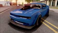 GTA V Bravado Gauntlet Hellfire Custom IVF for GTA San Andreas