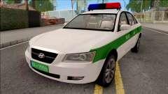 Hyundai Sonata 2009 Police for GTA San Andreas