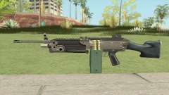 Advanced MG (M249) GTA IV EFLC for GTA San Andreas