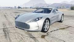 Aston Martin One-77 2012 for GTA 5