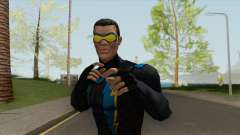 Black Lightning Protector Of Suicide Slums V1 for GTA San Andreas