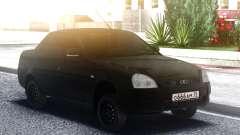 Lada Priora Black for GTA San Andreas