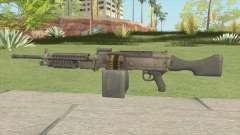 Battlefield 4 M240B for GTA San Andreas