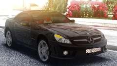 Mercedes-Benz SL65 AMG Black Original for GTA San Andreas