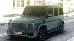 Mercedes-Benz G65 AMG 2013 Grey for GTA San Andreas