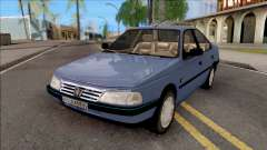 Peugeot 405 GLX Blue for GTA San Andreas