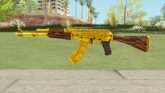 AKM Gold Cartel Skin
