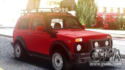 Lada Niva 2121 for GTA San Andreas