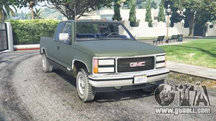 GMC Sierra C2500 Extended Cab 1992 for GTA 5
