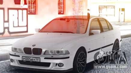 BMW M5 E39 Classic White for GTA San Andreas
