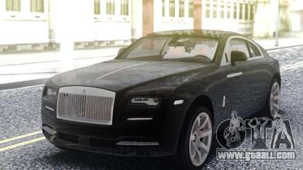 Rolls-Royce Wraith Black for GTA San Andreas