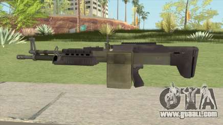 Battlefield 4 M60 for GTA San Andreas
