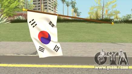 South Korea Flag for GTA San Andreas