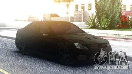 Mercedes-Benz C63 AMG AllBlack for GTA San Andreas