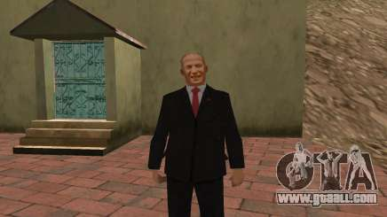 Nikita Khrushchev for GTA San Andreas