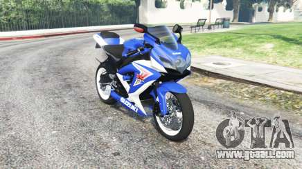 Suzuki GSX-R750 SRAD for GTA 5