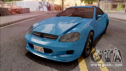 GTA IV Benefactor Feltzer VehFuncs Style for GTA San Andreas