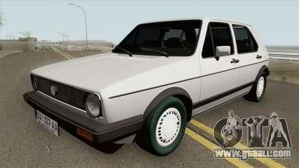Volkswagen Golf 1 JGL TAS 1983 for GTA San Andreas