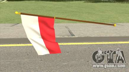 Poland Flag for GTA San Andreas