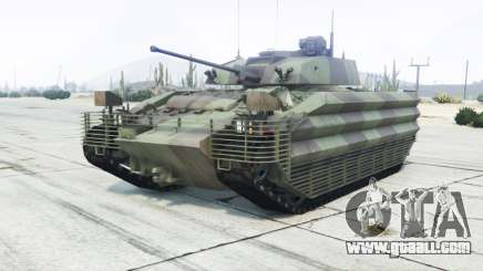 FV510 Warrior amulet for GTA 5