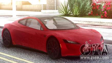 Tesla Motors Roadster 2020 Red for GTA San Andreas