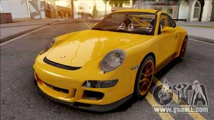 Porsche 911 GT3 RS Yellow for GTA San Andreas