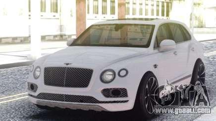 Bentley Bentayga W12 Touring for GTA San Andreas